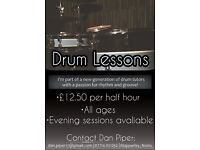 Drum lessons Nottingham