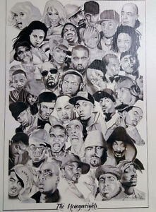 "Rap Poster - ""The Heavyweights"""