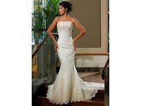 Maggie Sottero Wedding Dress - size 8, style J182