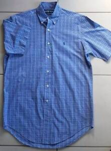 As New Mens Blue Ralph Lauren Classic Fit Casual Shirt Size 36S Brisbane City Brisbane North West Preview