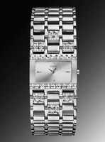 Guess SILVER watch Swarovski Crystal accent G95484l  Montre Gues