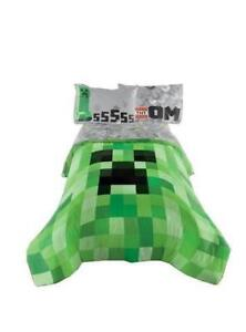 "Minecraft Excellent Designed Bedding Kids Comfortable Twin / Full Comforter 72"" x 86"""