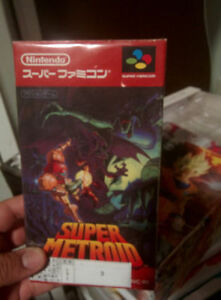 Super Metroid W / Box (Japanese) - $60