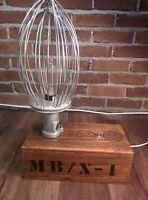 lampe look industriel(ampoule édisson)