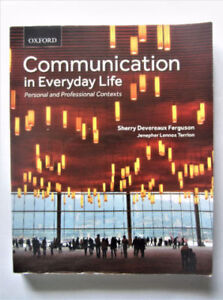 Communication in Everyday Life Textbook