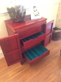 Chinese Rosewood Wine Cabinet