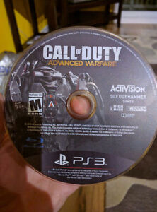 PlayStation 3 - COD 'Advanced Warfare' (no case)
