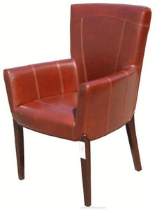 ACCENT ARMCHAIRS CLUB CHAIRS TUB CHAIRS in LEATHER N FABRIC