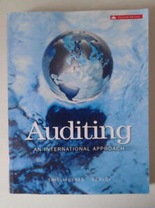 Auditing: an International approach 7th Canadian edition