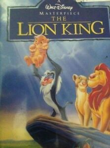 Lion King on VHS Mastrpiece Collection