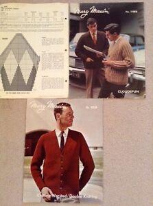 Vintage Mary Maxim knitting patterns London Ontario image 2