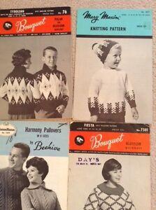 8 knitting patterns London Ontario image 3
