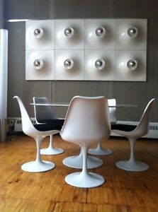 """SPACE PANELS MODERN LAMP BY """"SUPERIEUR"""" VERY RARE-12 PANELS"""