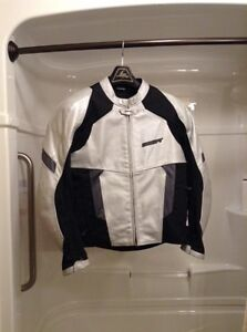 SHIFT Racing Dyer Hybrid Jacket size L silver/black