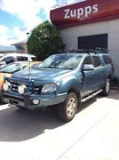 2014 Ford Ranger PX XLT Super Cab Blue 6 Speed Manual Utility Hillcrest Logan Area Preview
