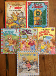ARTHUR books by Marc Brown $2 each or all 6 for $10