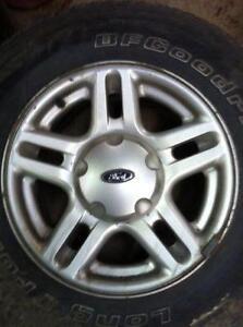 "4 - Ford Explorer Rims 16"" x 7"", 5 Lug 4.5"" Bolt Pattern"