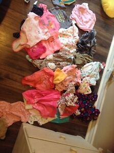 Baby girl clothes new born up
