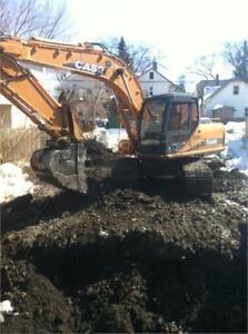 2005 Case CX160B Excavator