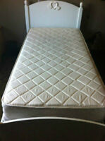 Simple Bed Set - Box Spring & Mattress Included -