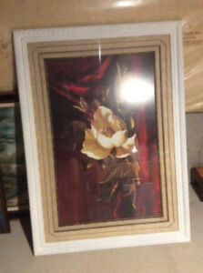 Large frame with glass
