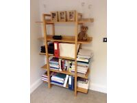 Wooden Birch Shelves