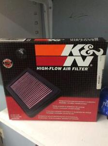 K&N HIGH FLOW AIR FILTER 05-06 CHEV COBALT
