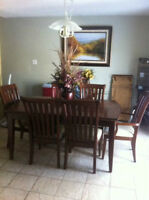 Top of the line heavy duty dining set