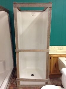 New stand up shower