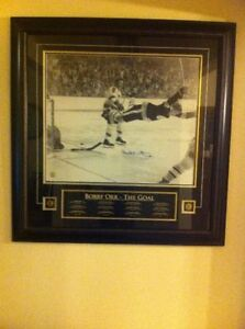 Autographed Bobby Orr- The Goal