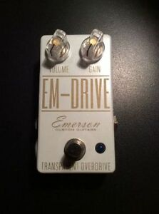 EM-Drive (Emerson) Gold-on-white