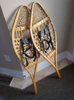 Traditional Wood Snowshoes