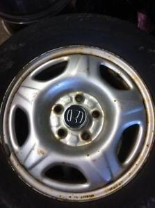"4 - Honda CRV 15"" Steel Rims"