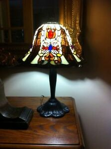 Authentic! Antique Signed Dale Tiffany Lamp