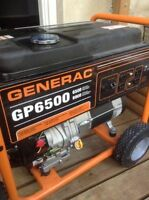 Looking to trade a Generac 6500 generator for a riding lawnmower
