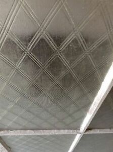 window...old lattice style glass