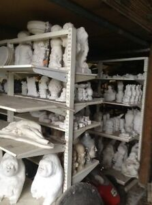 Moulds to make statues , concrete garden ornaments - business Waterford Logan Area Preview