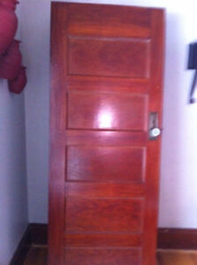 4 Wooden Doors.  1 painted on one side $50 each