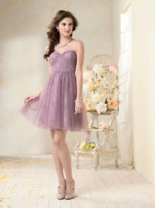 Wedding or Other Occasion Dress - Lilac Color (size 8)