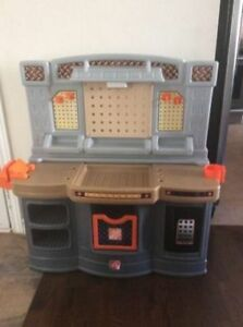 Home Depot Workbench with accessories