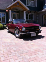 Triumph TR6 from Texas