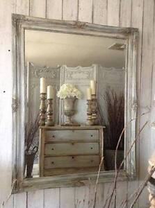 """SOLD P P/U... """"Champagne & Caviar!!"""" French Vintage Mirror... Butler Wanneroo Area Preview"""