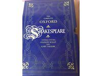 Complete Oxford Shakespeare books