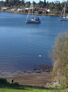 Mooring.     Newtown Bay. New Town Hobart City Preview