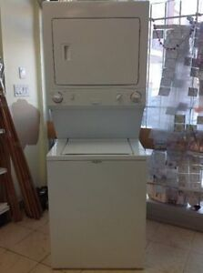 "2 IN 1 FRIGIDAIRE 27"" STACKABLE WASHER & ELECTRIC DRYER"