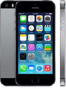 LIKE NEW SPACE GREY IPHONE 5S 16GB BELL VIRGIN + WRTY