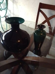 Vase, lamps, plate & accent chair Kitchener / Waterloo Kitchener Area image 1
