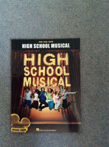 High School Musical Piano, Vocal and Guitar Book