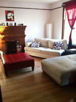 Available 1st of Nov: Downtown duplex with lots of character !!