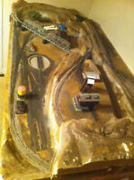 N scale layout - 3 foot by 6 foot